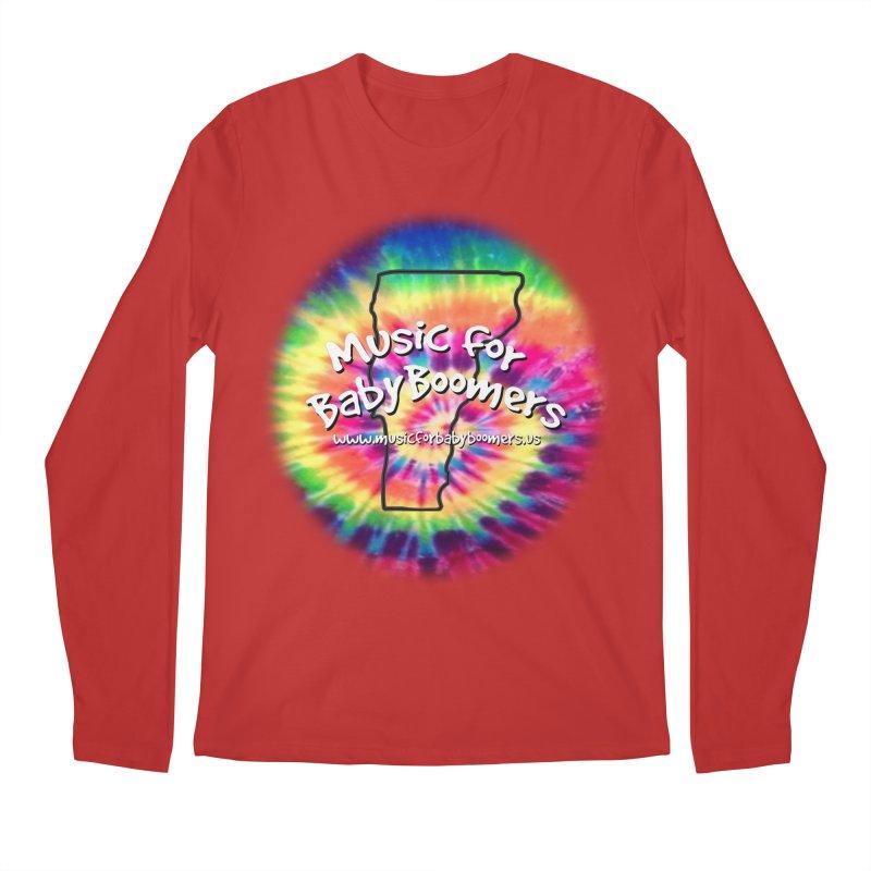 MusicForBabyBoomers-Vermont Men's Regular Longsleeve T-Shirt by PapaGreyBeard's Merchandise
