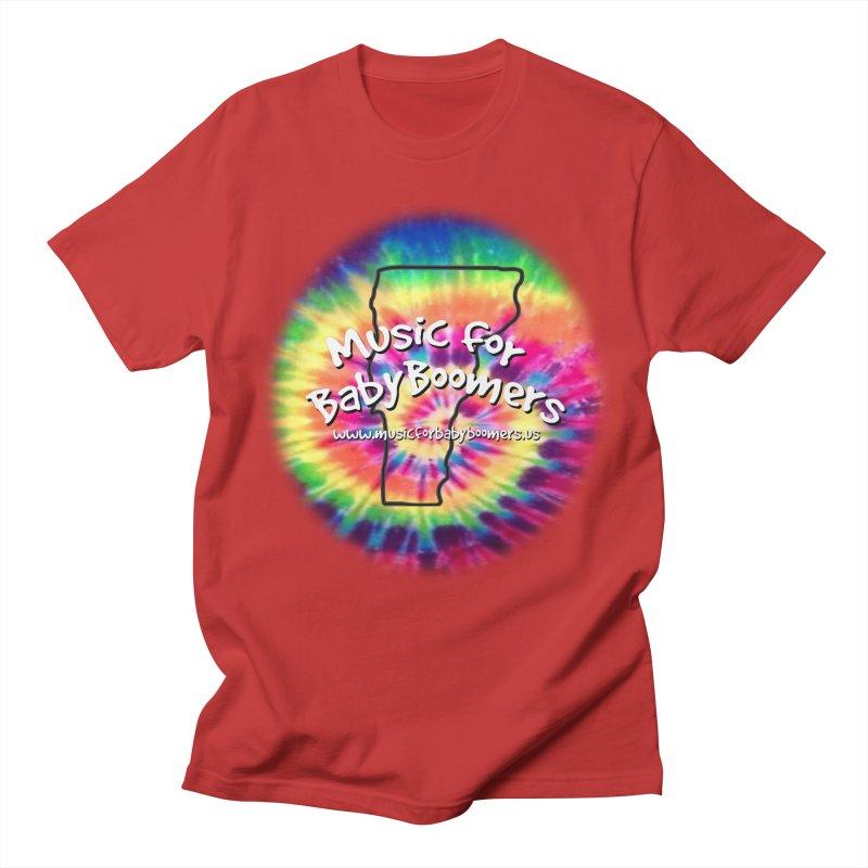 MusicForBabyBoomers-Vermont Men's Regular T-Shirt by PapaGreyBeard's Merchandise