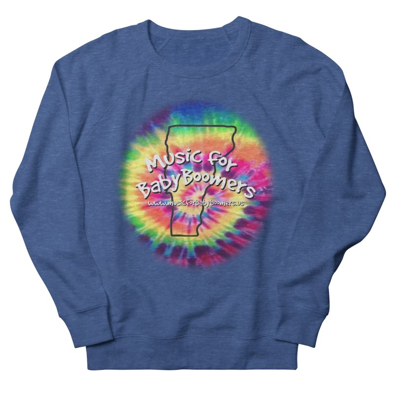 MusicForBabyBoomers-Vermont Women's French Terry Sweatshirt by PapaGreyBeard's Merchandise