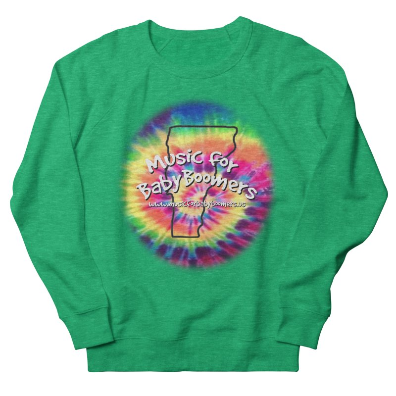 MusicForBabyBoomers-Vermont Men's French Terry Sweatshirt by PapaGreyBeard's Merchandise