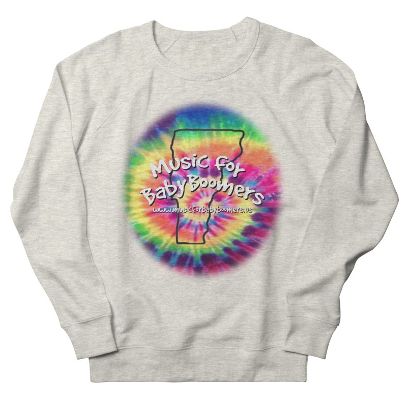 MusicForBabyBoomers-Vermont Men's Sweatshirt by PapaGreyBeard's Merchandise