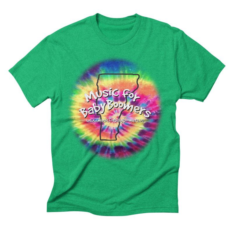 MusicForBabyBoomers-Vermont Men's Triblend T-Shirt by PapaGreyBeard's Merchandise