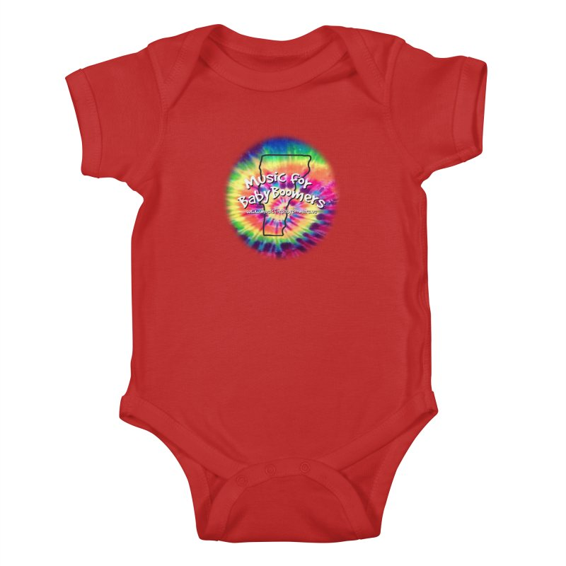 MusicForBabyBoomers-Vermont Kids Baby Bodysuit by PapaGreyBeard's Merchandise