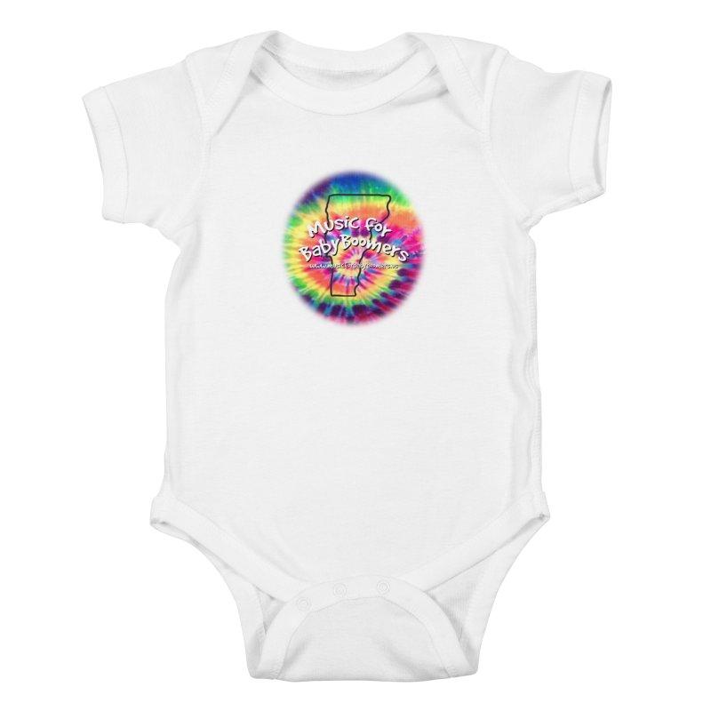 MusicForBabyBoomers-Vermont Kids Baby Bodysuit by PapaGreyBeard's Merchandise