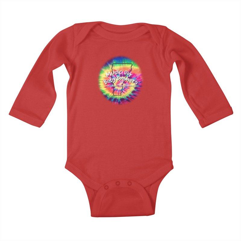 MusicForBabyBoomers-Vermont Kids Baby Longsleeve Bodysuit by PapaGreyBeard's Merchandise