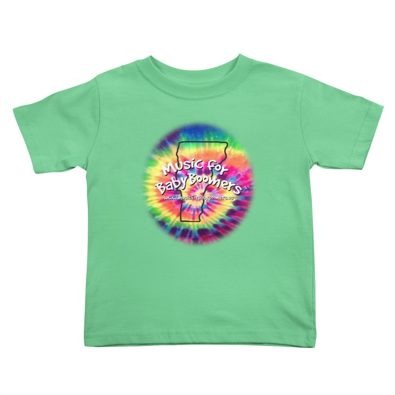 MusicForBabyBoomers-Vermont Kids Toddler T-Shirt by PapaGreyBeard's Merchandise