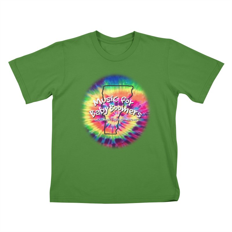 MusicForBabyBoomers-Vermont Kids T-Shirt by PapaGreyBeard's Merchandise