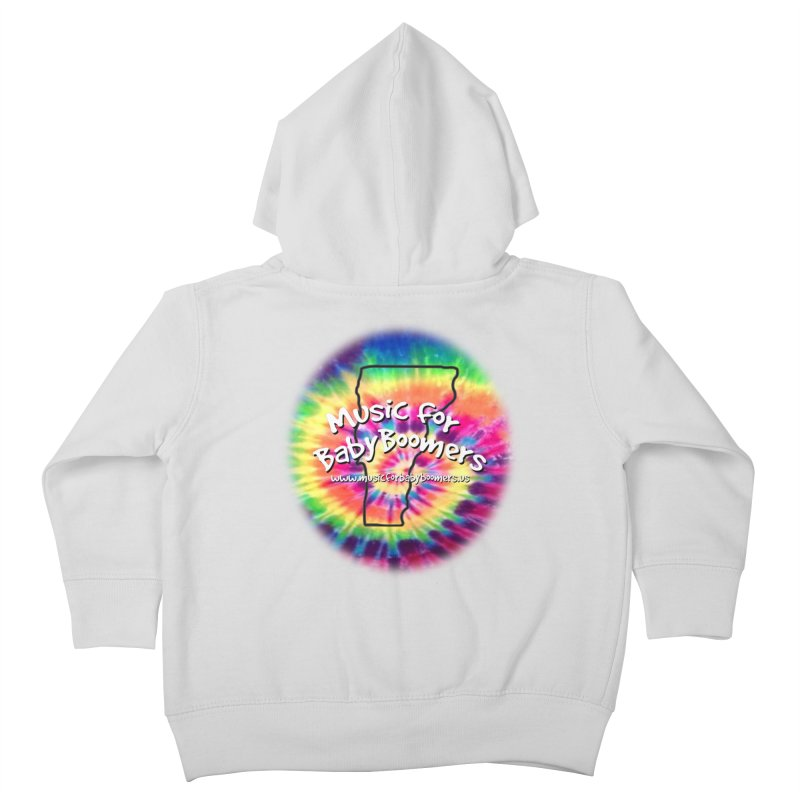 MusicForBabyBoomers-Vermont Kids Toddler Zip-Up Hoody by PapaGreyBeard's Merchandise