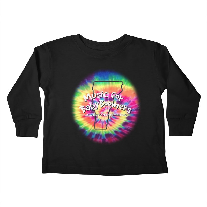 MusicForBabyBoomers-Vermont Kids Toddler Longsleeve T-Shirt by PapaGreyBeard's Merchandise