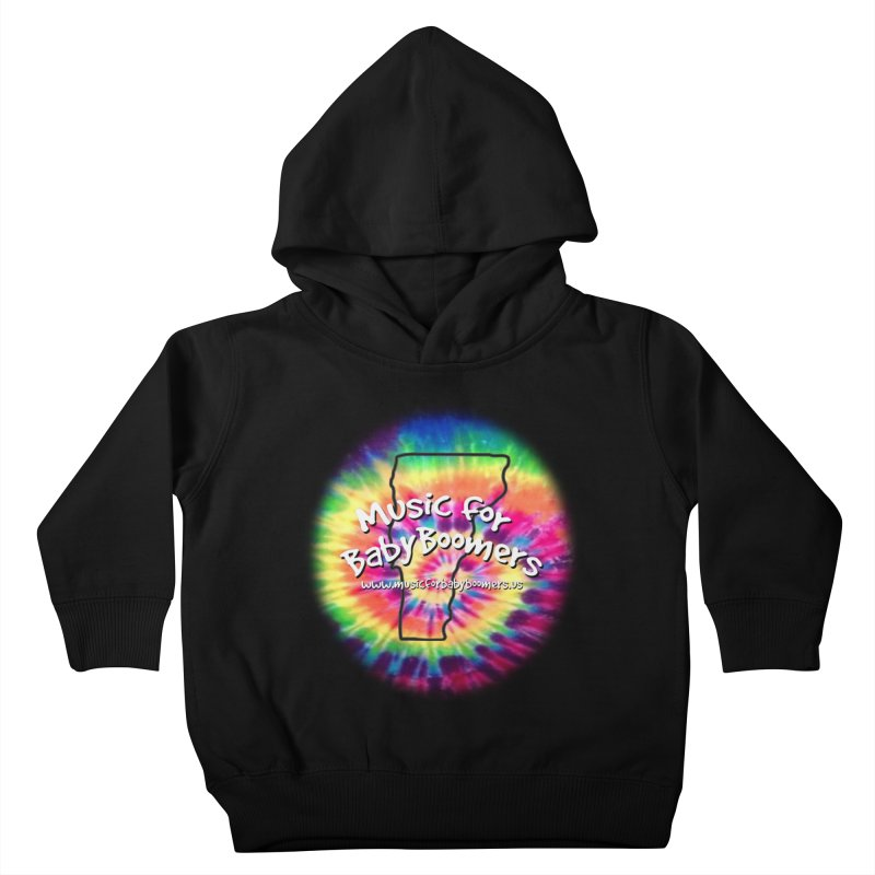 MusicForBabyBoomers-Vermont Kids Toddler Pullover Hoody by PapaGreyBeard's Merchandise