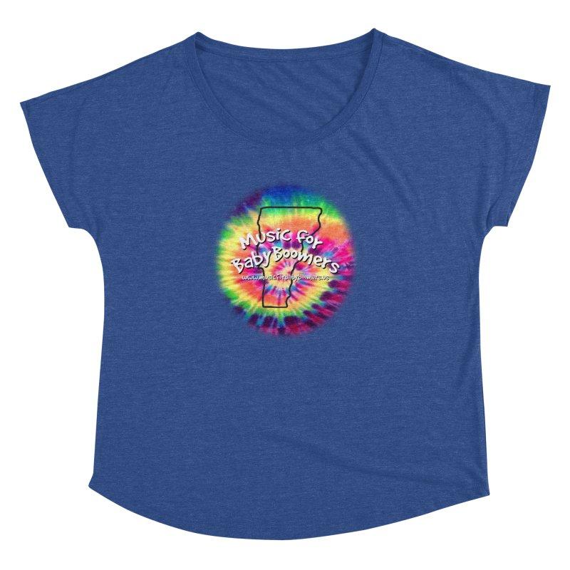 MusicForBabyBoomers-Vermont Women's Dolman Scoop Neck by PapaGreyBeard's Merchandise