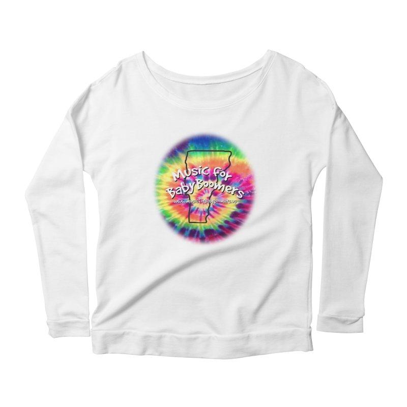 MusicForBabyBoomers-Vermont Women's Scoop Neck Longsleeve T-Shirt by PapaGreyBeard's Merchandise
