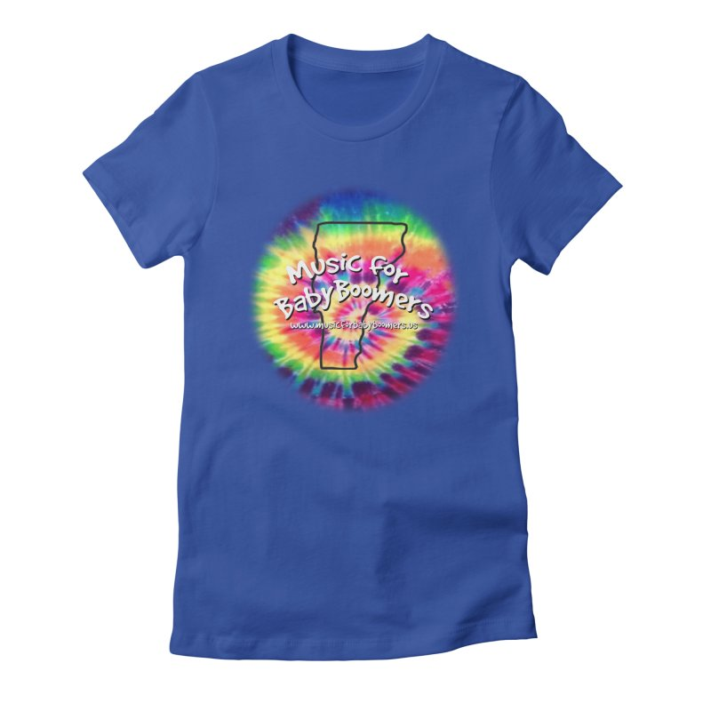 MusicForBabyBoomers-Vermont Women's Fitted T-Shirt by PapaGreyBeard's Merchandise
