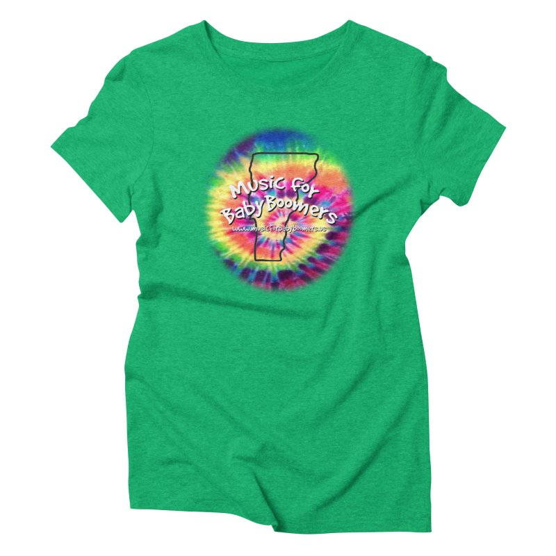 MusicForBabyBoomers-Vermont Women's Triblend T-Shirt by PapaGreyBeard's Merchandise