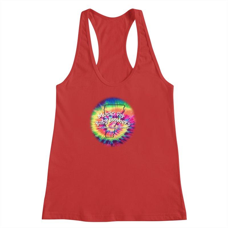 MusicForBabyBoomers-Vermont Women's Racerback Tank by PapaGreyBeard's Merchandise
