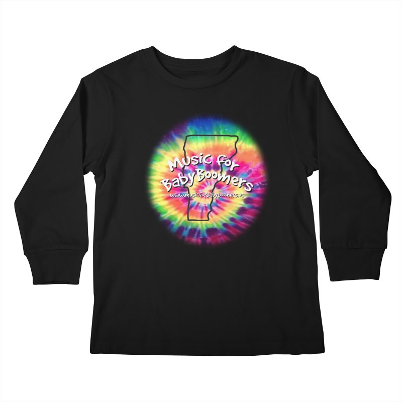 MusicForBabyBoomers-Vermont Kids Longsleeve T-Shirt by PapaGreyBeard's Merchandise