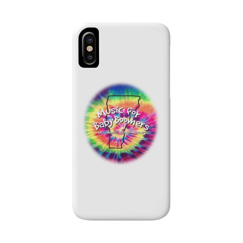 MusicForBabyBoomers-Vermont Accessories Phone Case by PapaGreyBeard's Merchandise
