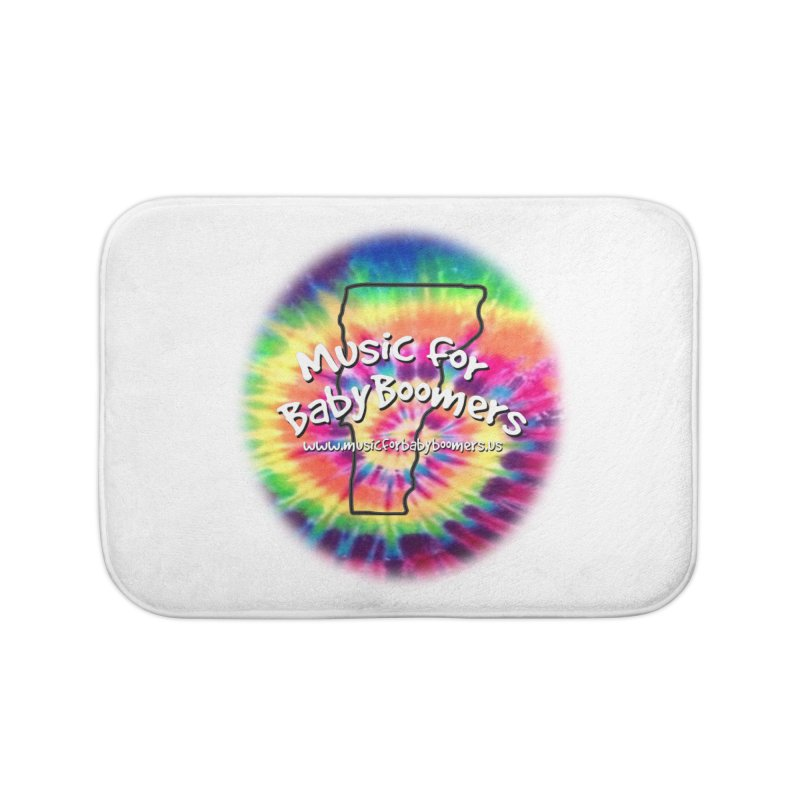 MusicForBabyBoomers-Vermont Home Bath Mat by PapaGreyBeard's Merchandise