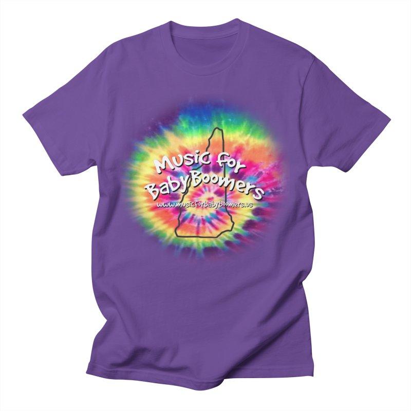 MusicForBabyBoomers-New Hampshire Men's T-Shirt by PapaGreyBeard's Merchandise