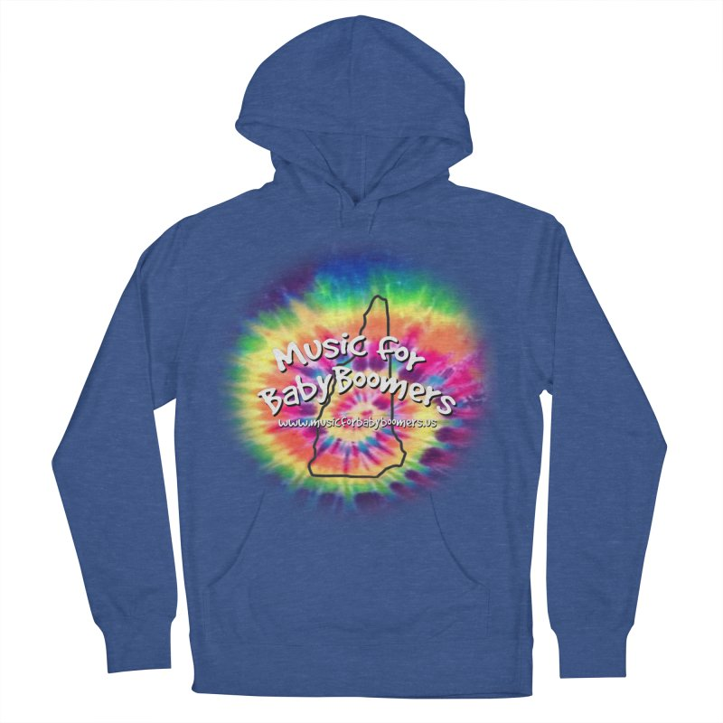 MusicForBabyBoomers-New Hampshire Men's French Terry Pullover Hoody by PapaGreyBeard's Merchandise