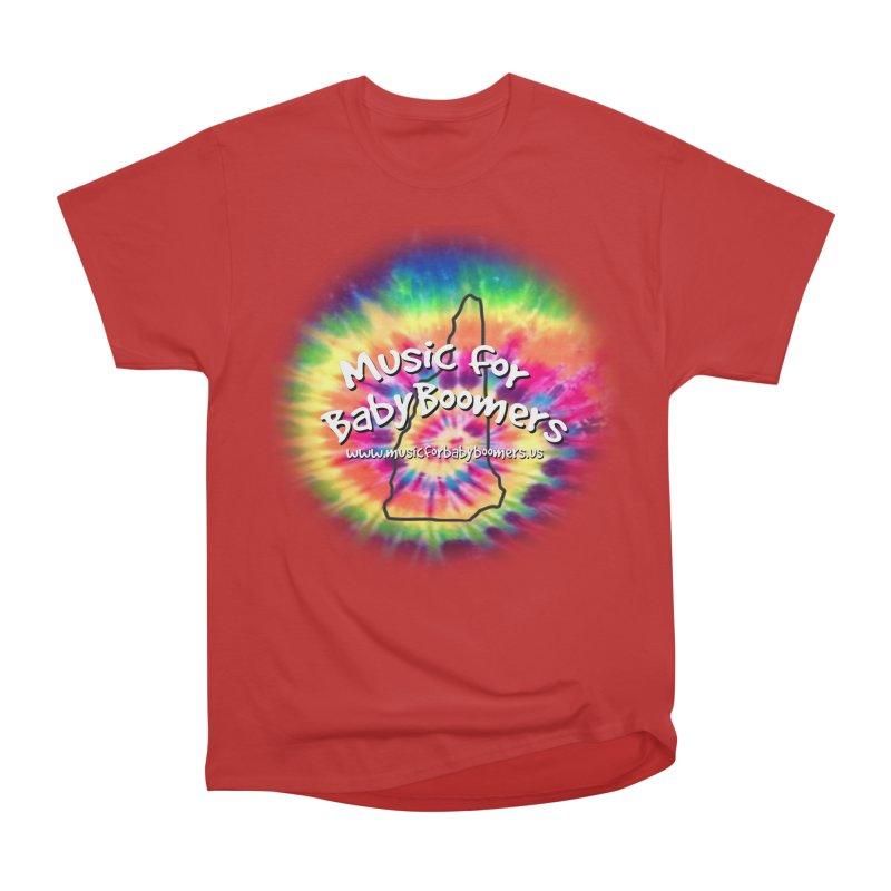 MusicForBabyBoomers-New Hampshire Men's Heavyweight T-Shirt by PapaGreyBeard's Merchandise