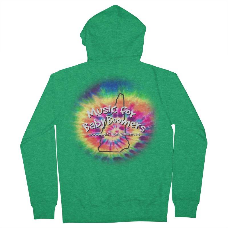 MusicForBabyBoomers-New Hampshire Women's Zip-Up Hoody by PapaGreyBeard's Merchandise