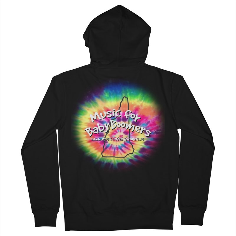 MusicForBabyBoomers-New Hampshire Men's Zip-Up Hoody by PapaGreyBeard's Merchandise