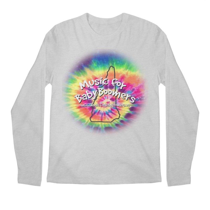 MusicForBabyBoomers-New Hampshire Men's Regular Longsleeve T-Shirt by PapaGreyBeard's Merchandise