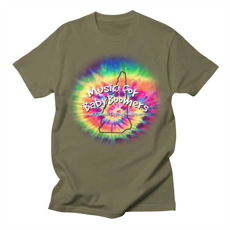 MusicForBabyBoomers-New Hampshire Women's Regular Unisex T-Shirt by PapaGreyBeard's Merchandise