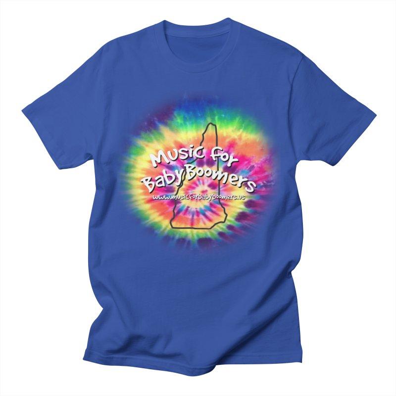 MusicForBabyBoomers-New Hampshire Men's Regular T-Shirt by PapaGreyBeard's Merchandise