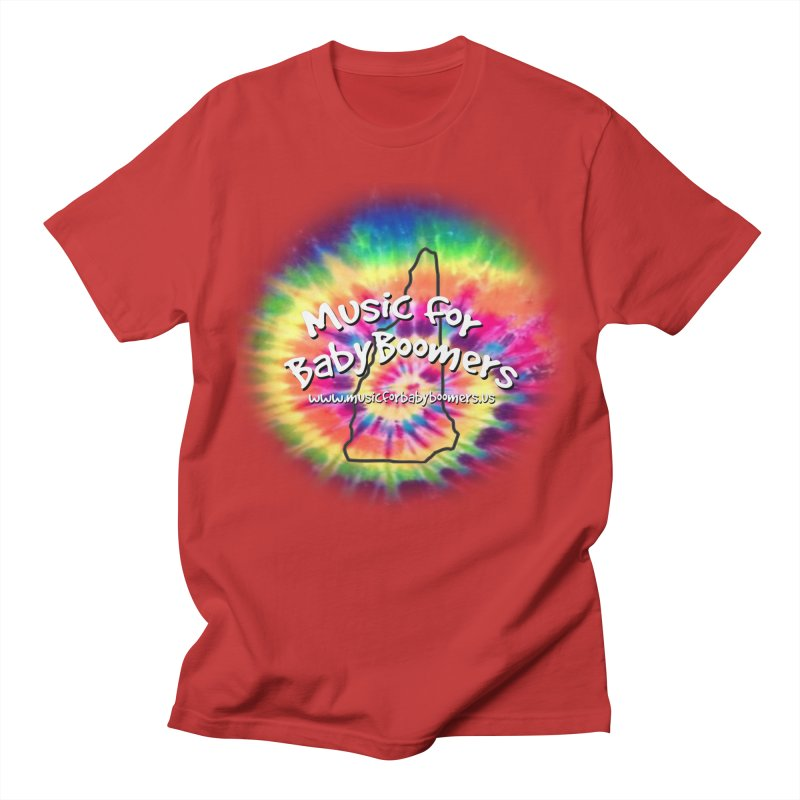 MusicForBabyBoomers-New Hampshire Women's Unisex T-Shirt by PapaGreyBeard's Merchandise