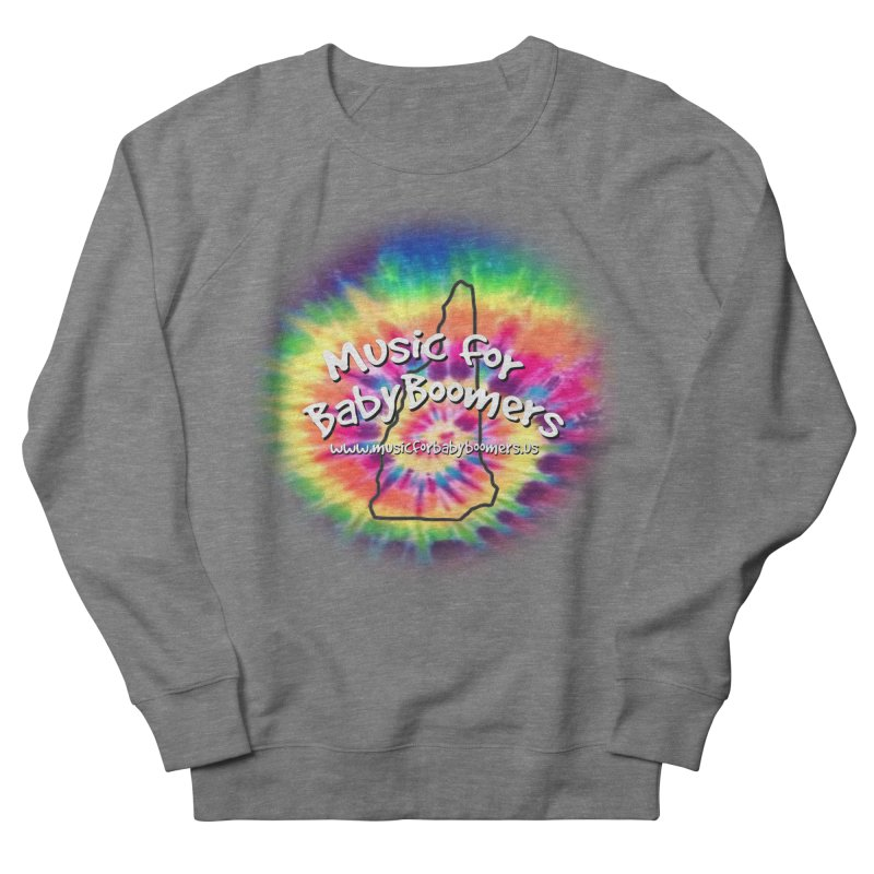 MusicForBabyBoomers-New Hampshire Women's French Terry Sweatshirt by PapaGreyBeard's Merchandise