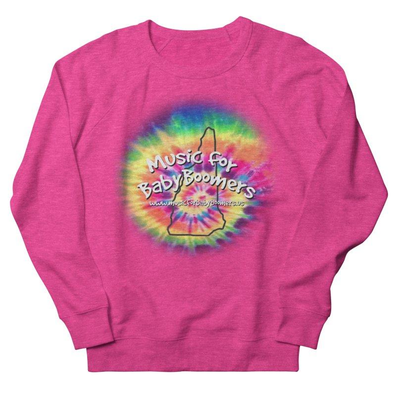 MusicForBabyBoomers-New Hampshire Women's French Terry Sweatshirt by PapaGreyBeard's Merchandise
