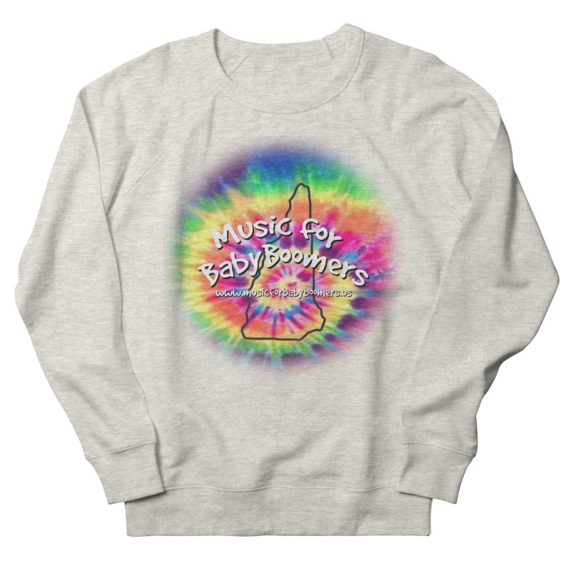 MusicForBabyBoomers-New Hampshire Men's French Terry Sweatshirt by PapaGreyBeard's Merchandise