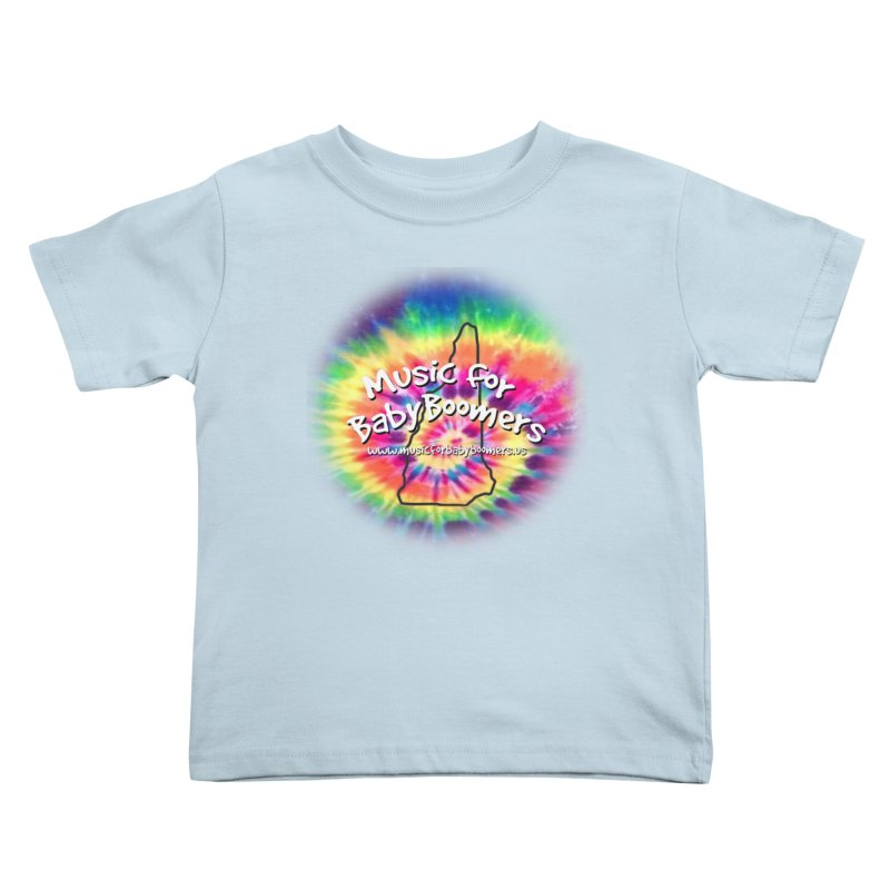 MusicForBabyBoomers-New Hampshire Kids Toddler T-Shirt by PapaGreyBeard's Merchandise
