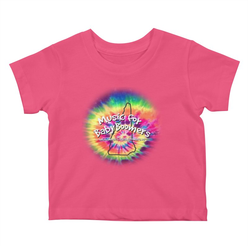 MusicForBabyBoomers-New Hampshire Kids Baby T-Shirt by PapaGreyBeard's Merchandise