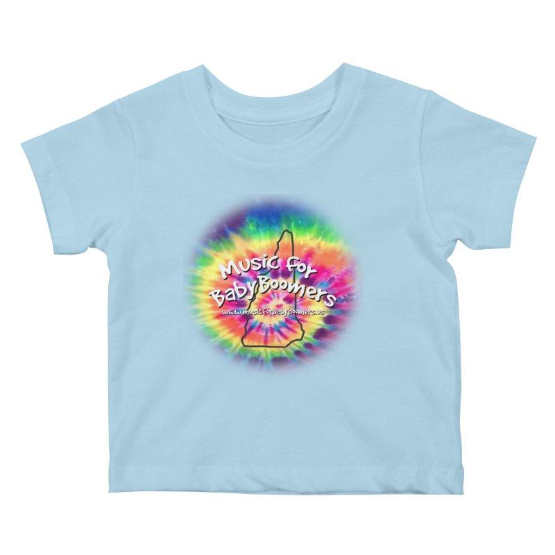 MusicForBabyBoomers-New Hampshire Kids Baby T-Shirt by PapaGreyBeard's Merchandise