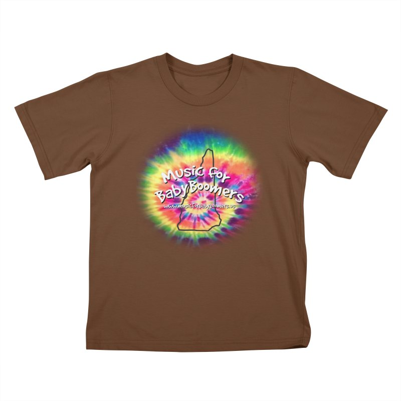 MusicForBabyBoomers-New Hampshire Kids T-Shirt by PapaGreyBeard's Merchandise