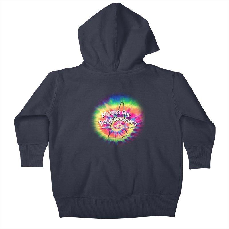 MusicForBabyBoomers-New Hampshire Kids Baby Zip-Up Hoody by PapaGreyBeard's Merchandise