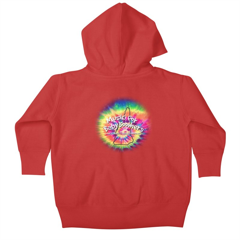 MusicForBabyBoomers-New Hampshire Kids Baby Zip-Up Hoody by PapaGreyBeard's Merchandise