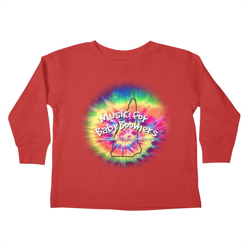MusicForBabyBoomers-New Hampshire Kids Toddler Longsleeve T-Shirt by PapaGreyBeard's Merchandise