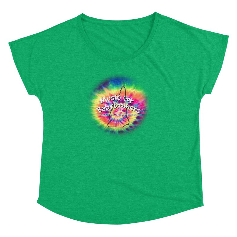 MusicForBabyBoomers-New Hampshire Women's Dolman Scoop Neck by PapaGreyBeard's Merchandise