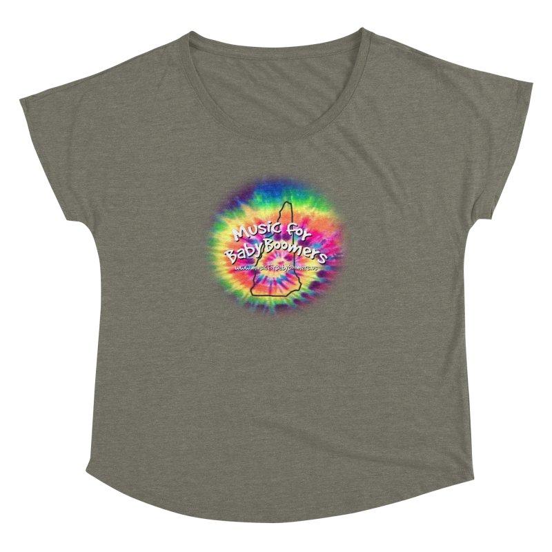 MusicForBabyBoomers-New Hampshire Women's Dolman by PapaGreyBeard's Merchandise