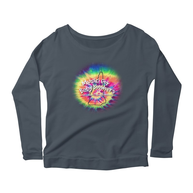 MusicForBabyBoomers-New Hampshire Women's Longsleeve Scoopneck  by PapaGreyBeard's Merchandise