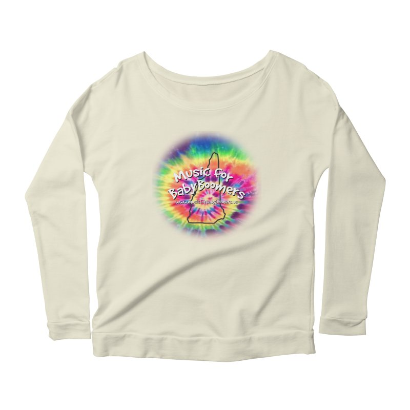 MusicForBabyBoomers-New Hampshire Women's Scoop Neck Longsleeve T-Shirt by PapaGreyBeard's Merchandise