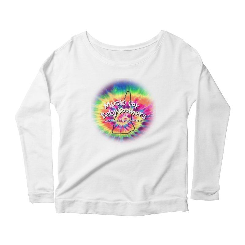 MusicForBabyBoomers-New Hampshire Women's Scoop Neck Longsleeve T-Shirt by PapaGreyBeard's Merchandise