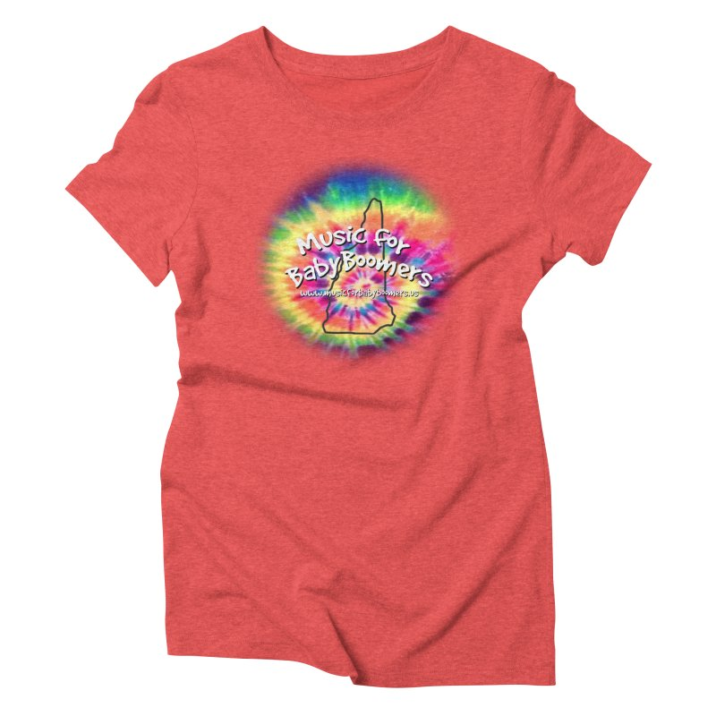 MusicForBabyBoomers-New Hampshire Women's Triblend T-Shirt by PapaGreyBeard's Merchandise