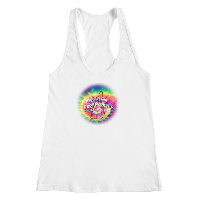 MusicForBabyBoomers-New Hampshire Women's Racerback Tank by PapaGreyBeard's Merchandise