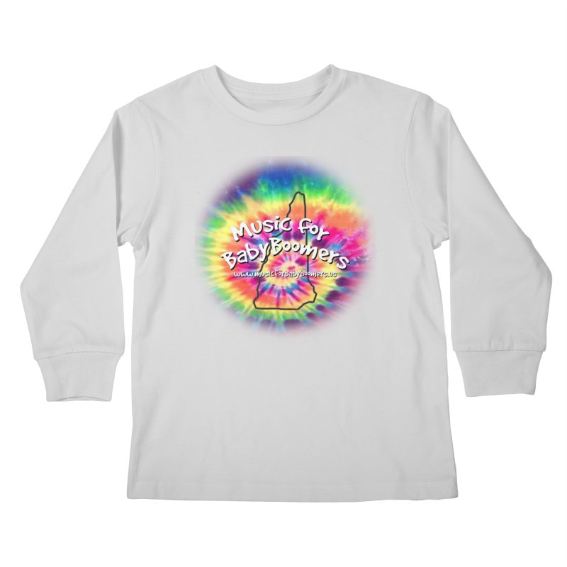 MusicForBabyBoomers-New Hampshire Kids Longsleeve T-Shirt by PapaGreyBeard's Merchandise