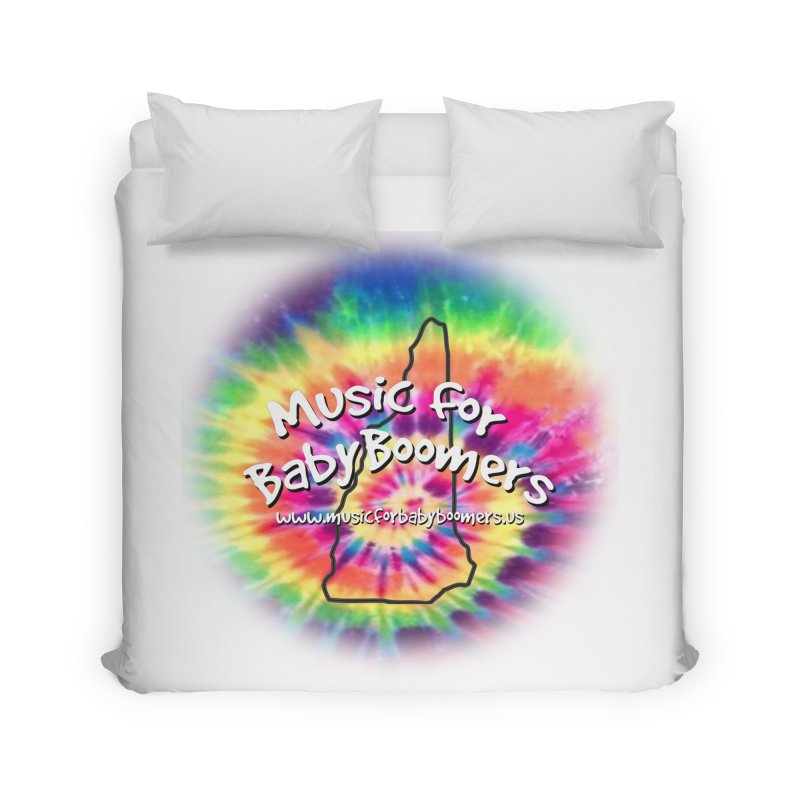 MusicForBabyBoomers-New Hampshire Home Duvet by PapaGreyBeard's Merchandise